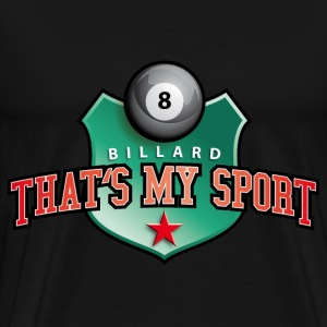 billard_my_sport_07201401 T-Shirts - Men's Premium T-Shirt