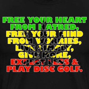 Free Your Mind (Rasta) T-Shirts - Men's Premium T-Shirt