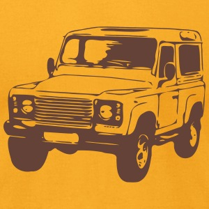 Defender 2 T-Shirts - Men's T-Shirt by American Apparel