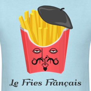 Le French Fries from France T-Shirts - Men's T-Shirt