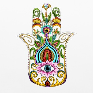 Hamsa hand pillowcase - Pillowcase