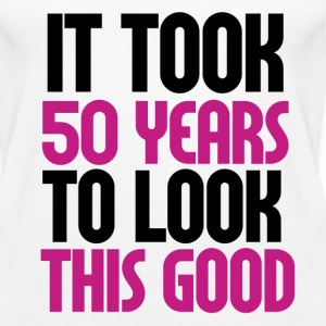 50th birthday - Women's Premium Tank Top