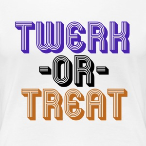 TWERK or treat - Women's Premium T-Shirt
