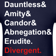 Design ~ DIvergent facions shirt 2