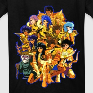 saint seiya tees - Kids' T-Shirt