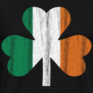 Irish flag clover - Men's Premium T-Shirt