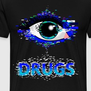 drugs pixel - Men's Premium T-Shirt