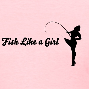 pinup fish like a girl Women's T-Shirts - Women's T-Shirt