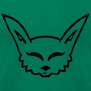 fennec fox T-Shirts - Men's T-Shirt by American Apparel