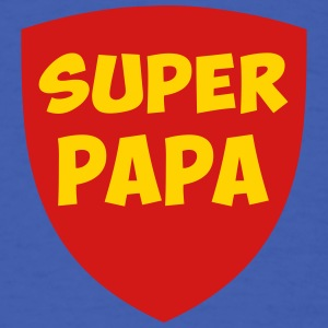 super papa  T-Shirts - Men's T-Shirt