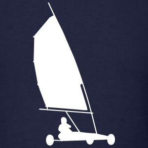 land sailing T-Shirts - Men's T-Shirt