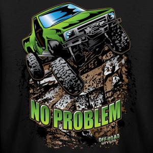Toyota Rock Crawler Green Kids' Shirts - Kids' Long Sleeve T-Shirt