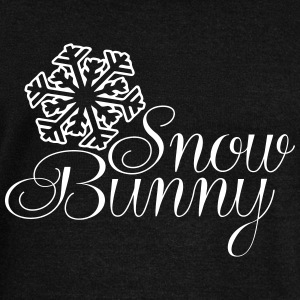 """Snow Bunny"" Sweatshirt - Women's Wideneck Sweatshirt"
