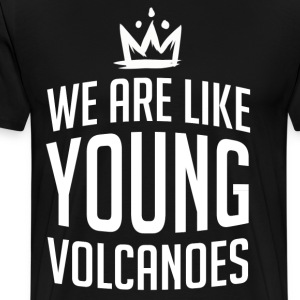 Young Volcanoes - Men's Premium T-Shirt
