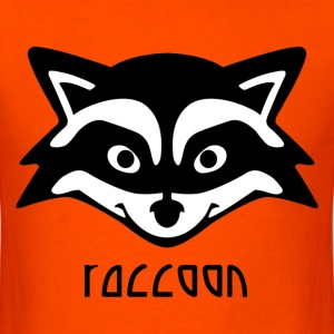 Raccoon - Men's T-Shirt
