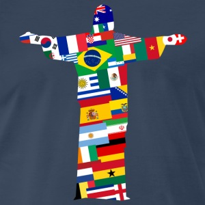 Rio Jesus Nations Shirt - Men's Premium T-Shirt