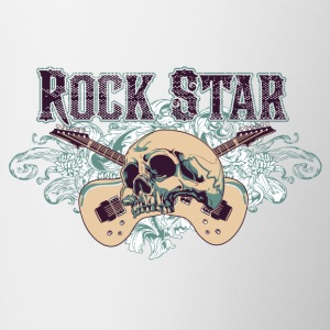 Rock Star Bottles & Mugs - Contrast Coffee Mug