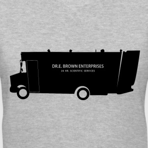 Doc Brown 24 Hour Science - Women's V-Neck T-Shirt