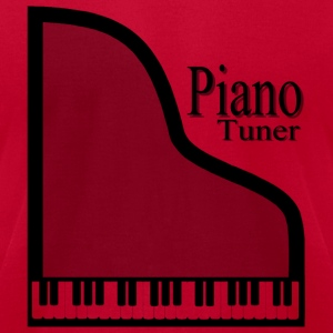 Piano Tuner T-Shirts - Men's T-Shirt by American Apparel