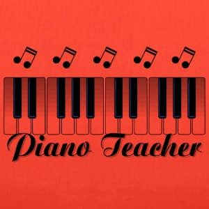 Piano Teacher Bags & backpacks - Tote Bag