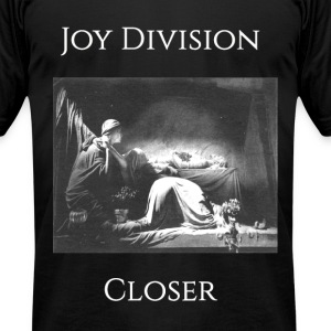 Joy DIvision Closer - Men's T-Shirt by American Apparel