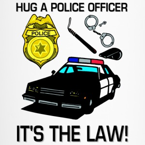 Hug A Police Officer Bottles & Mugs - Travel Mug
