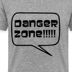 Danger Zone T-Shirts - Men's Premium T-Shirt