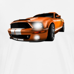 sport car T-Shirts - Men's Premium T-Shirt