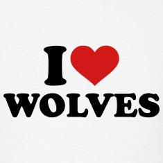 I love wolves T-Shirts