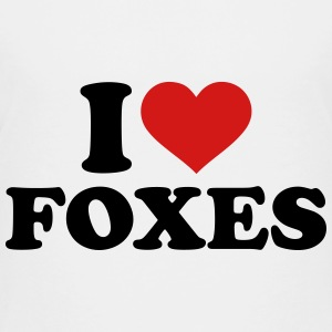 I love foxes Kids' Shirts - Kids' Premium T-Shirt