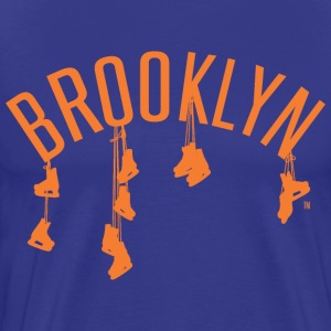 Brooklyn Hockey Blue - Men's Premium T-Shirt