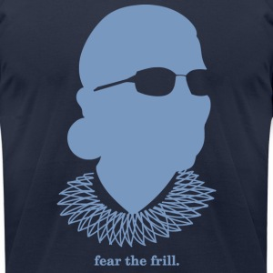 Fear the Frill (American Apparel) - Men's T-Shirt by American Apparel