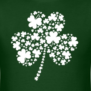 St Patrick's Day Irish Shamrock Clover T-Shirts - Men's T-Shirt