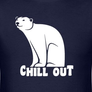 Chill Out Polar Bear T-Shirts - Men's T-Shirt