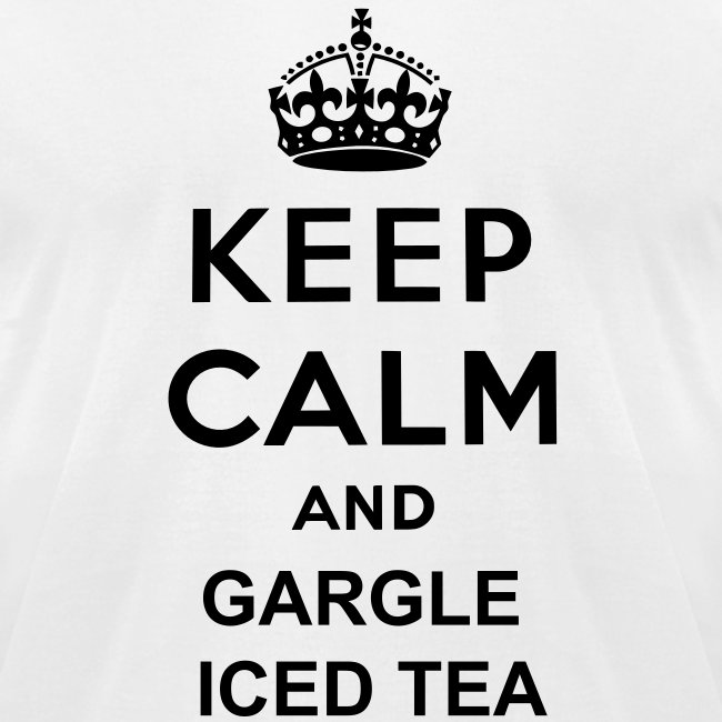 Gargle Iced Tea