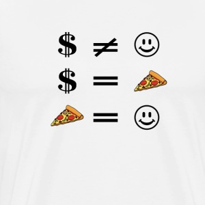 Pizza = Happiness T-Shirts - Men's Premium T-Shirt