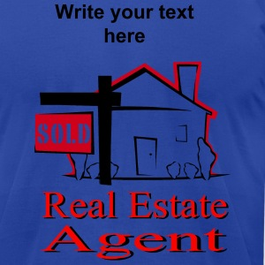 Real Estate Agent T-Shirts - Men's T-Shirt by American Apparel