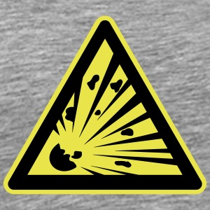 Sign explosion risk - Men's Premium T-Shirt