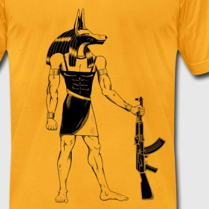 Anubis Reloaded T-Shirts - Men's T-Shirt by American Apparel