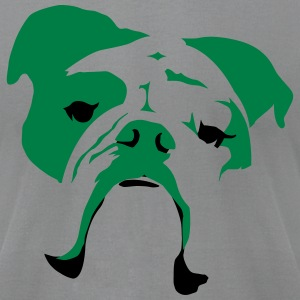 Auggie Shirt (English Bulldog) - Men's T-Shirt by American Apparel