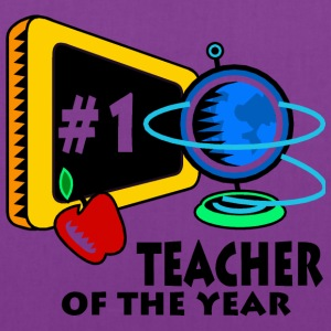 Teacher Of The Year Bags & backpacks - Tote Bag