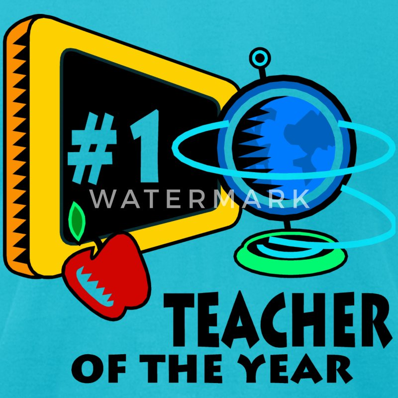Teacher Of The Year T-Shirts - Men's T-Shirt by American Apparel