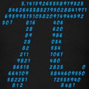 Pi, Math, Mathematic, Irrational Number, Science T-Shirts - Men's T-Shirt