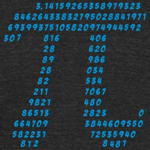 Pi, Math, Mathematic, Irrational Number, Science T - Unisex Tri-Blend T-Shirt by American Apparel