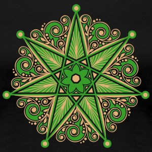 Elven Star, Heptagram, Perfection & Protection Women's T-Shirts - Women's Premium T-Shirt