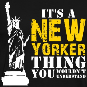 It's a New York Thing - Men's Premium T-Shirt