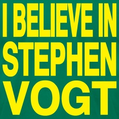 I believe in Stephen Vogt
