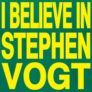 I believe in Stephen Vogt - Men's T-Shirt by American Apparel