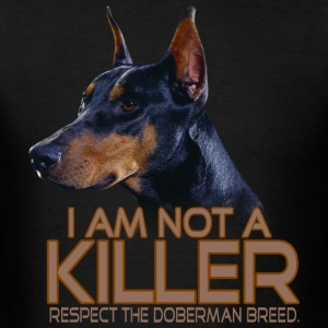 Doberman Respect - Men's T-Shirt