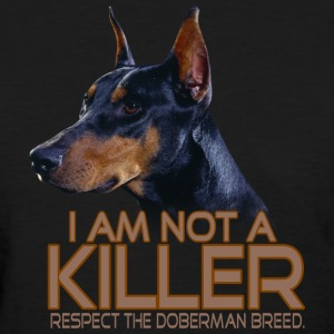 Doberman Respect - Women's T-Shirt